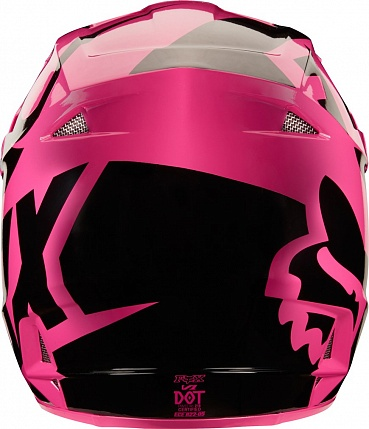 Мотошлем Fox V1 Race Helmet Pink