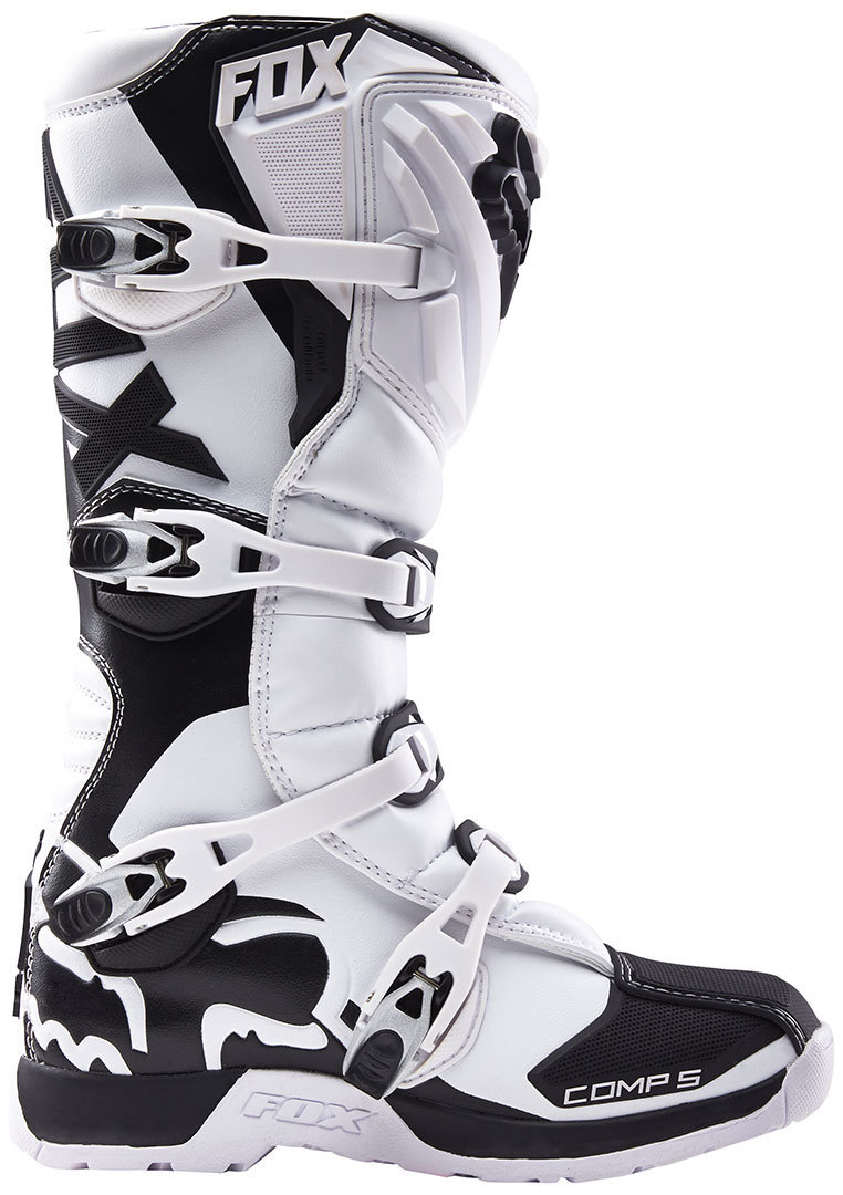 Мотоботы Fox Comp 5 Boot White