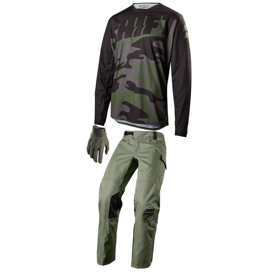 Мотоштаны Shift Recon Drift Pant Fatigue Green