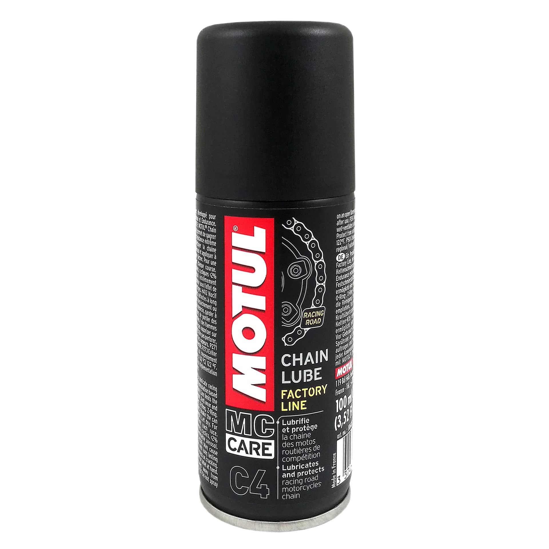 Motul смазка для цепи C4 Chain Luber FL/100ml/ в интернет-магазине Мотомода