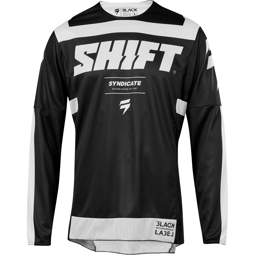 Мотоджерси SHIFT Black Strike jersey в интернет-магазине Мотомода